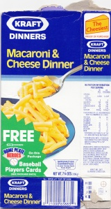 1987 Kraft Mac & Cheese front