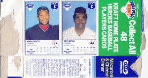 1987 Kraft Mac & Cheese Puckett Gwynn