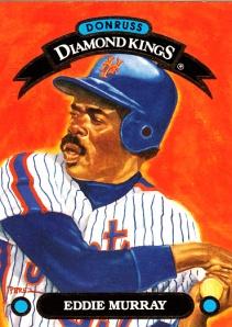1993 Donruss Diamond King Eddie Murray