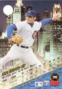 1993 Leaf back Greg Hibbard