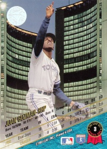 1993 Leaf back Juan Guzman