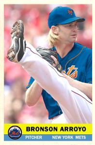 2013-14 Hot Stove Promo #2 Bronson Arroyo