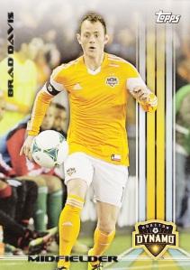 2013 Topps MLS Brad Davis