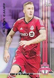 2013 Topps MLS Danny Califf Purple