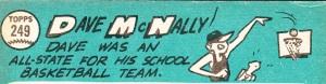 1965 Topps Dave McNally back