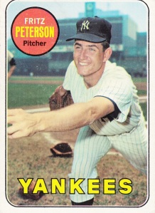 1969 Topps Fritz Peterson