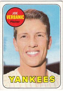 1969 Topps Joe Verbanic