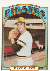 1972 Topps Dave Giusti