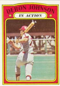 1972 Topps Deron Johnson IA
