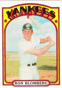 1972 Topps Ron Blomberg