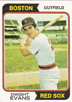 1974 Topps Dwight Evans