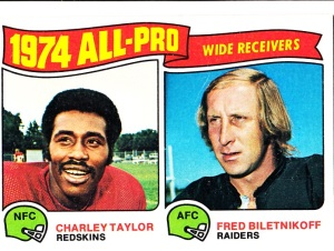1975 Topps Football All-Pro Wide Receivers