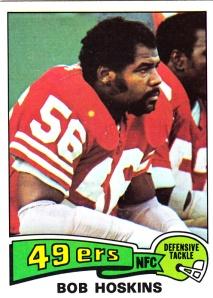 1975 Topps Football Bob Hoskins