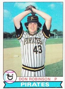 1979 Topps Don Robinson