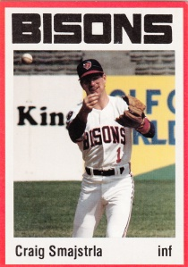 1987 Buffalo Bisons Craig Smajstrla