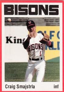 1987 Buffalo Bisons Craig Smajstrla