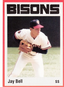 1987 Buffalo Bisons Jay Bell