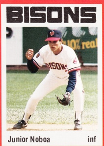 1987 Buffalo Bisons Junior Noboa