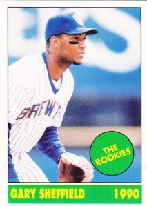1990 Shanks Rookies Gary Sheffield