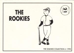 1990 Shanks Rookies Sheffield back
