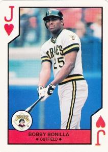 1990 US Playing Cards Bobby Bonilla