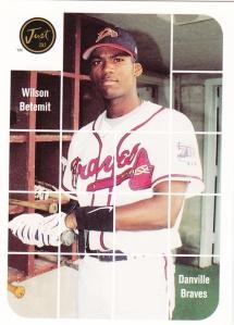2001 Just Top Prospect Promo Wilson Betemit
