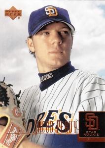 2001 Upper Deck Prospect Premieres Jacob Peavy