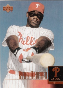 2001 Upper Deck Prospect Premieres Ryan Howard