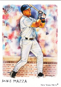 2002 Topps Gallery Mike Piazza