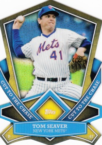 2013 Topps Cut To The Chase Tom Seaver