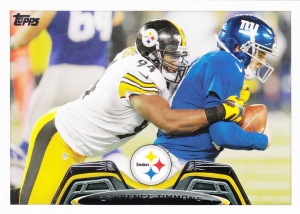 2013 Topps Football Lawrence Timmons