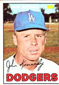 1967 Topps John Kennedy