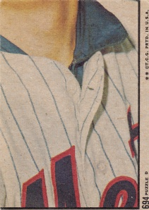 1972 Topps Alan Gallagher IA back - Seaver Puzzle #6