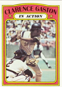 1972 Topps Clarence Gaston