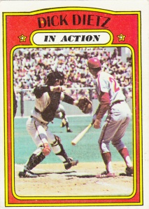 1972 Topps Dick Dietz