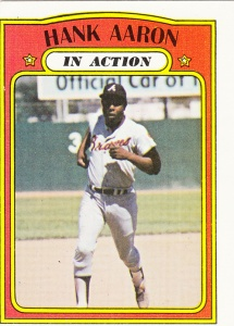 1972 Topps Hank Aaron IA