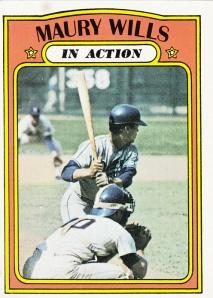 1972 Topps Maury Wills