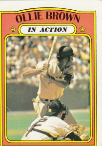 1972 Topps Ollie Brown