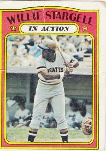1972 Topps Willie Stargell