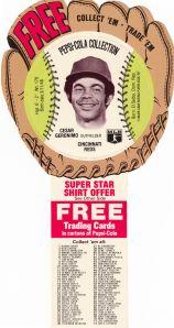 1977 Pepsi Cesar Geronimo