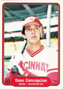 1982 Fleer Dave Concepcion