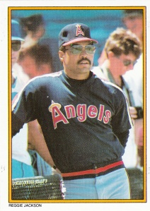 1987 Topps Mail-In Glossy Reggie Jackson
