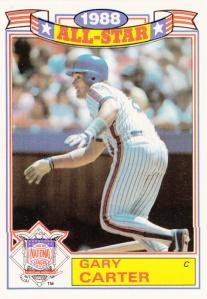1989 Topps Glossy Gary Carter