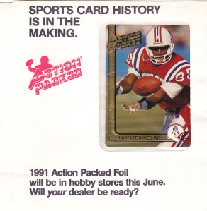 1991 Action Packed football promo