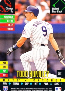 1995 Donruss Top Of The Order Todd Hundley