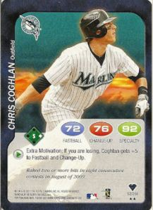 2011 Topps Attax Chris Coghlan