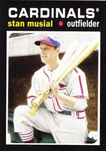 2013 Topps Update 1971 Mini Stan Musial