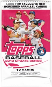 2013 Topps Update Wrapper