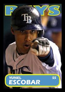 2013 TSR #146 - Yunel Escobar
