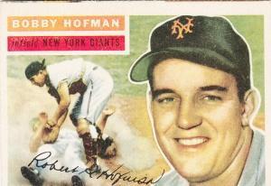 1956 Topps Bobby Hofman